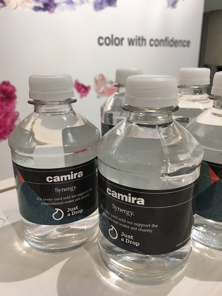 camira  Learn more about our collaboration with water aid charity @Just_a_Drop & our beautiful Synergy fabrics @NeoCon_Shows in Showroom 11-23A pic.twitter.com/a5SJnucFjO  Jun 14, 2017, 9:25 AM