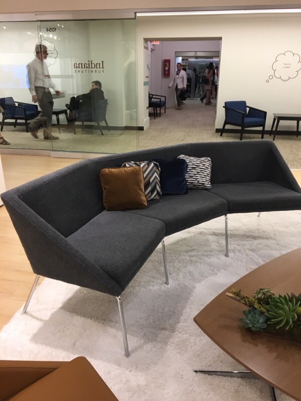 Carnegiefabrics  We are loving Icon @IndianaFurn's #NeoCon2017 showroom! Visit them in Suite 1054A! pic.twitter.com/J65cD9WZL6  Jun 14, 2017, 9:51 AM