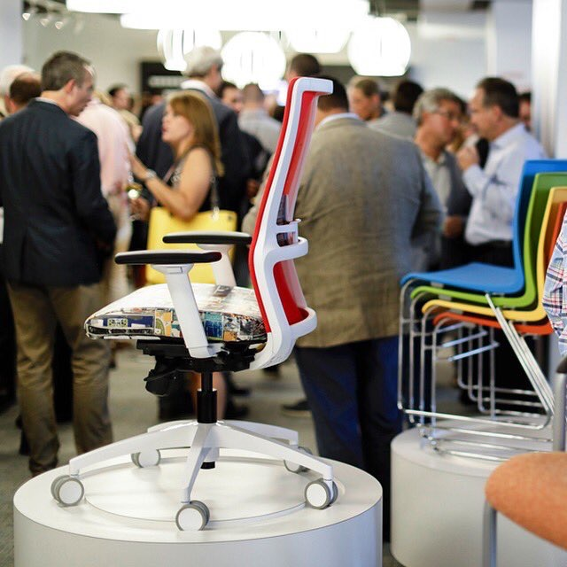 SitOnItSeating  From all of us @sitonitseating to all of you, thank you so much for visiting our showroom during NeoCon! #neocon #officefurniture #chair pic.twitter.com/vWnBN95FzI  Jun 14, 2017, 2:36 PM