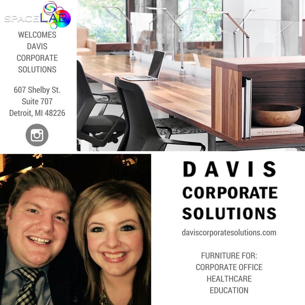 SpaceLabDetroit #SpaceLabDetroit welcomes Davis Corporate Solutions and its #furniture brands to #Detroit spacelabdetroit.com/2017/06/15/dav… pic.twitter.com/v6cOI26GTd Jun 16, 2017, 4:31 PM