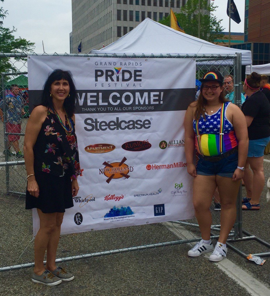 cscongdon So proud of @Steelcase for supporting the Grand Rapids LGBTQ community! pic.twitter.com/sa29L3YFNi Jun 17, 2017, 11:20 AM