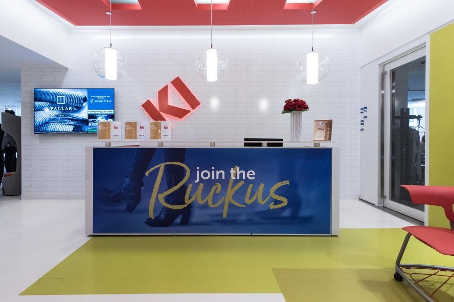 KItweets Unable to attend #NeoCon2017? Take a virtual tour of our space! #designmoves #bestofneocon hubs.ly/H07Rdbm0 pic.twitter.com/FSa4J9mSK5 Jun 19, 2017, 11:01 AM