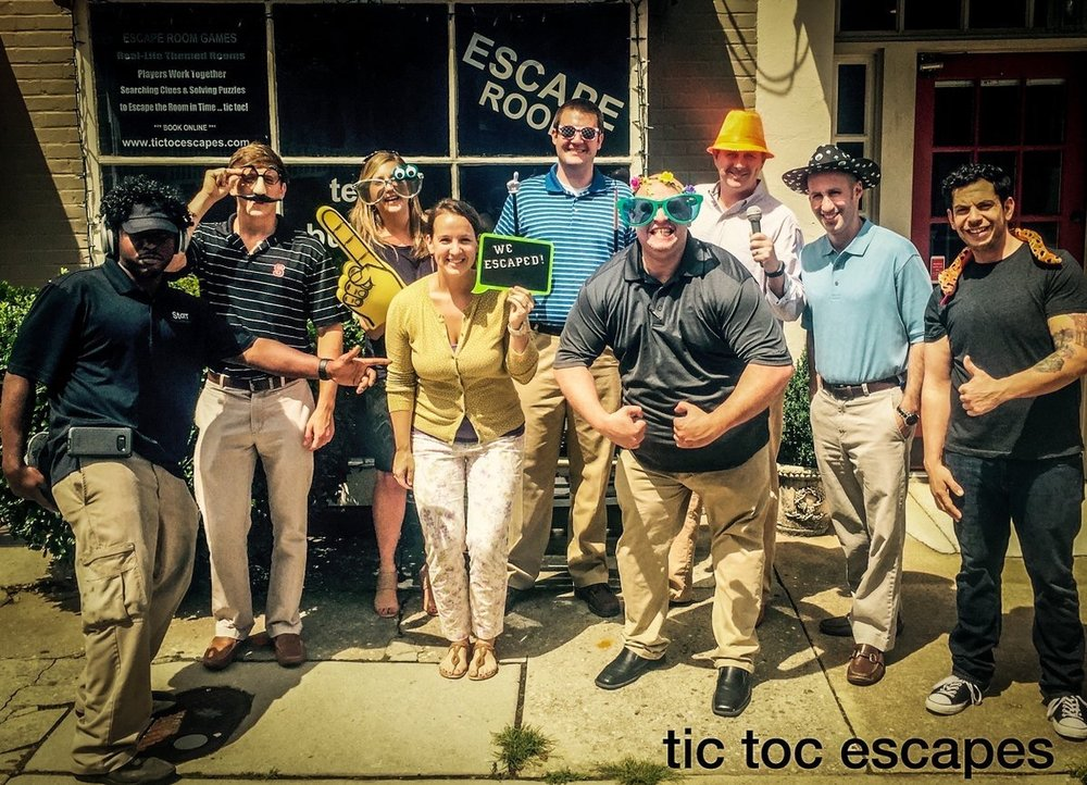 StorrOffice  Our crew broke out with 7 minutes to spare at @tictocescapes #teammemberappreciationweek pic.twitter.com/wLDxN8BHkA  Jun 23, 2017, 7:23 AM