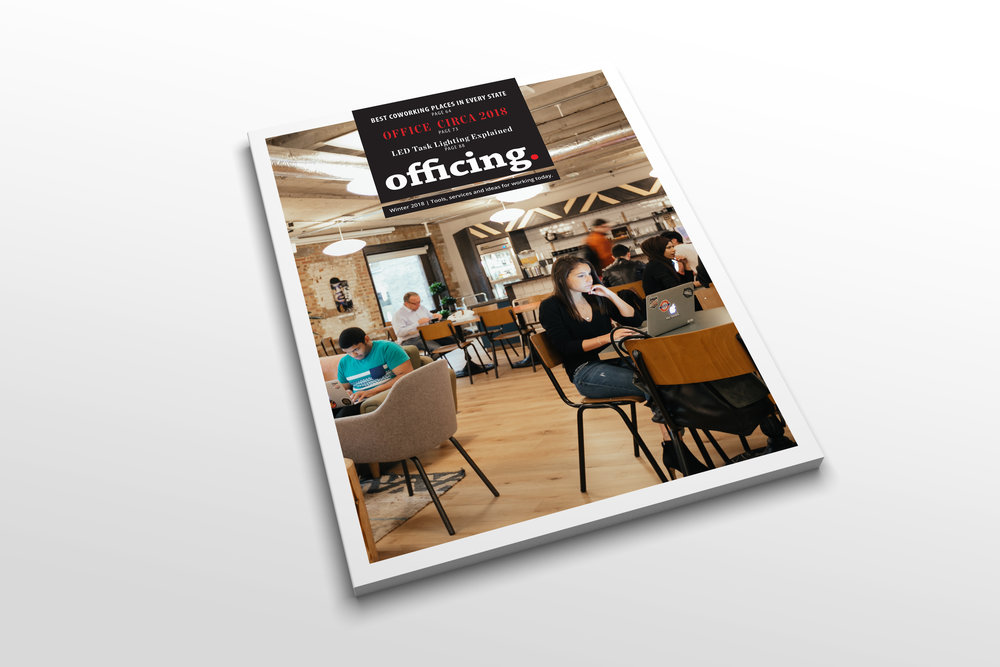 Officing: the Magazine - Coming this fall: Officing (printed) and Officing.com (web) - showcasing the latest tools, services and ideas to help everyone navigate today's new way of working. Officing is targeted to anyone who works, whether at home, in a coworking facility, the beach or even an office. You'll discover unique and exclusive content and product reviews on everything relevant to today's dynamic work environment - written by our own editorial staff. Sign-up now on officing.com