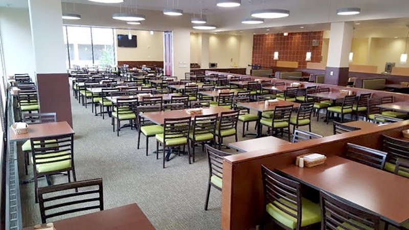 SandlerSeat  Check out the newly designed Gordon Commons at @UWMadison- featuring out Woodlook chairs! bit.ly/2n1MgFK #Interiors #Uni #Wisconsin pic.twitter.com/VO2XpMZA4X  Aug 23, 2017, 7:30 AM