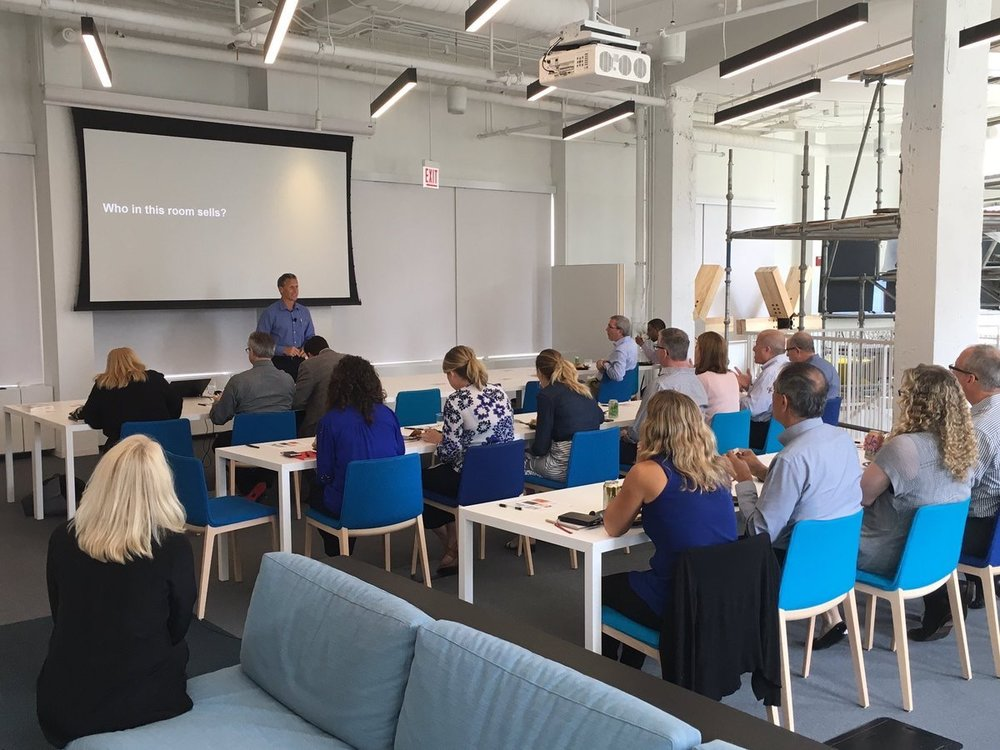 """perkinswill_CHI  .@Steelcase Education consultant Steve Slifka is in our office today presenting """"The Art of Storytelling"""" to our client engagement leaders pic.twitter.com/P7PCx5ntd4  Aug 28, 2017, 12:23 PM"""