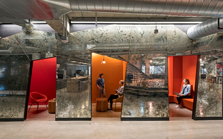 Capital One Labs in San Francisco by IA Interior Architects. Photography by Jasper Sanidad.
