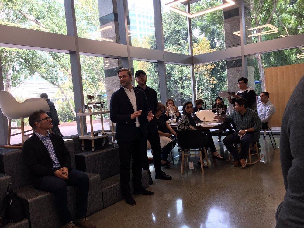 AJParonWildes  Amazing Normann Copenhagen event at Inside Source in San Jose! @Allsteel pic.twitter.com/GNQBJZFZNv  Oct 11, 2017, 5:46 PM