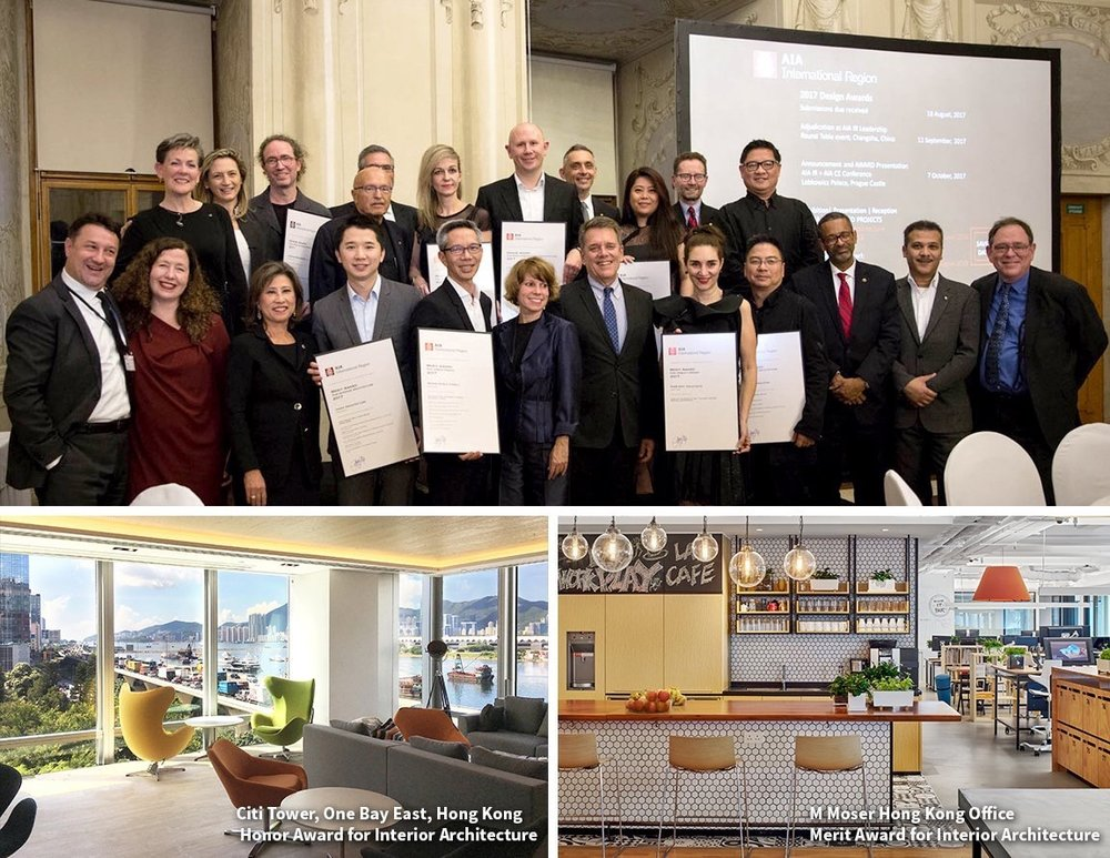 mmoserassociate We're been awarded two @IntlAIA International Region awards in #design excellence for @Citi & the M Moser HK office: bit.ly/2yEk2cg pic.twitter.com/vpv7QC8WMN Oct 20, 2017, 4:44 AM