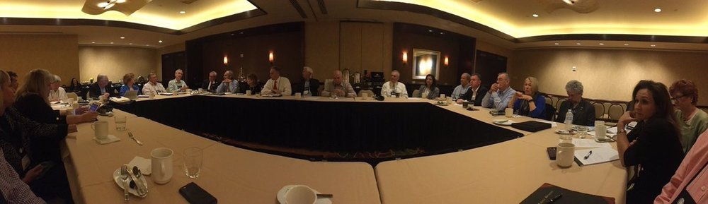 ISSCMO @IFMA Fellows meeting this morning discussing some very interesting perspectives for the future of association #wwphou17 #WWP pic.twitter.com/LNuhmg03Er Oct 20, 2017, 8:05 AM