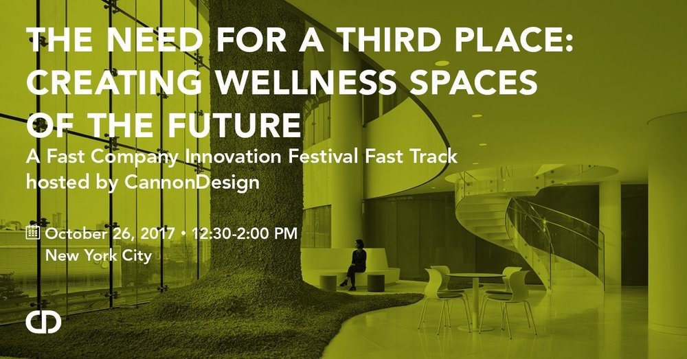CannonDesign Excited to be hosting a Fast Company Innovation Festival Fast Track next week lnkd.in/dysVyTP pic.twitter.com/iHFw1hckpK Oct 20, 2017, 10:49 AM