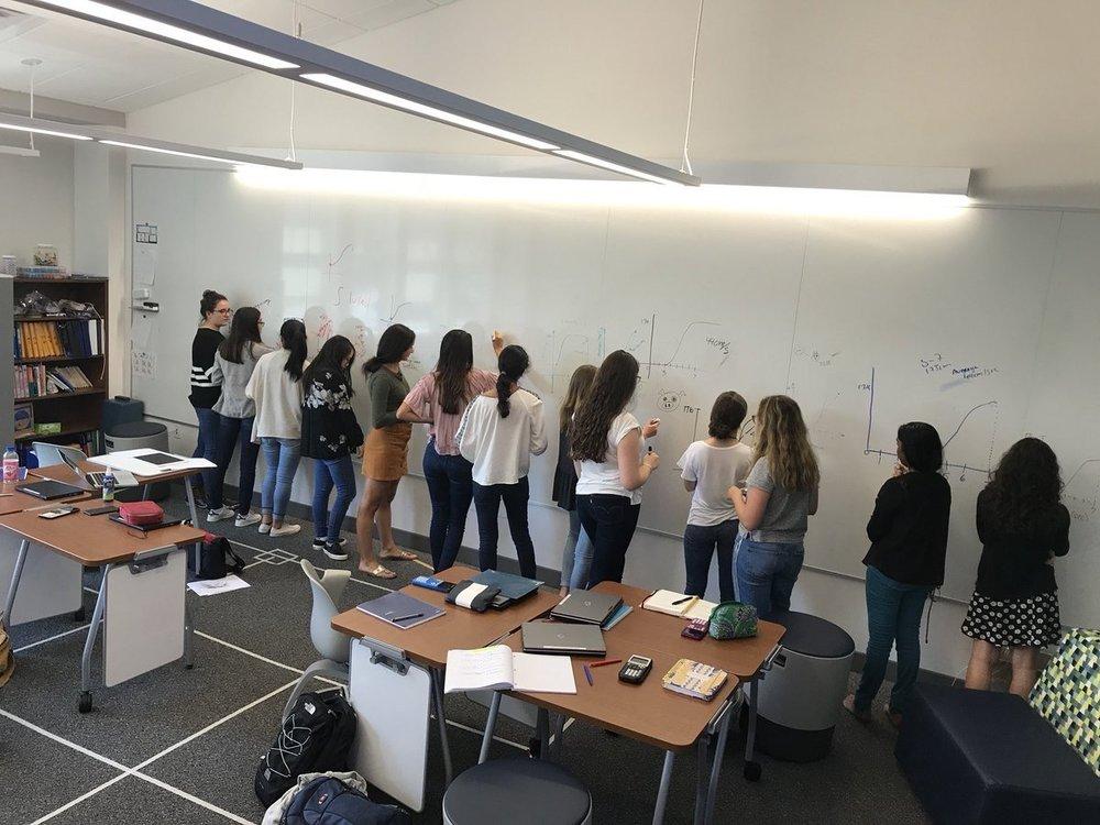 mathillustrated  ...students go all #vnps - but hard to get them out of the @SteelcaseEDU chairs&desks! @pgliljedahl @Steelcase @snej80 @JulieAnnHamlett pic.twitter.com/nbt5qAQc8z  Oct 21, 2017, 10:48 AM