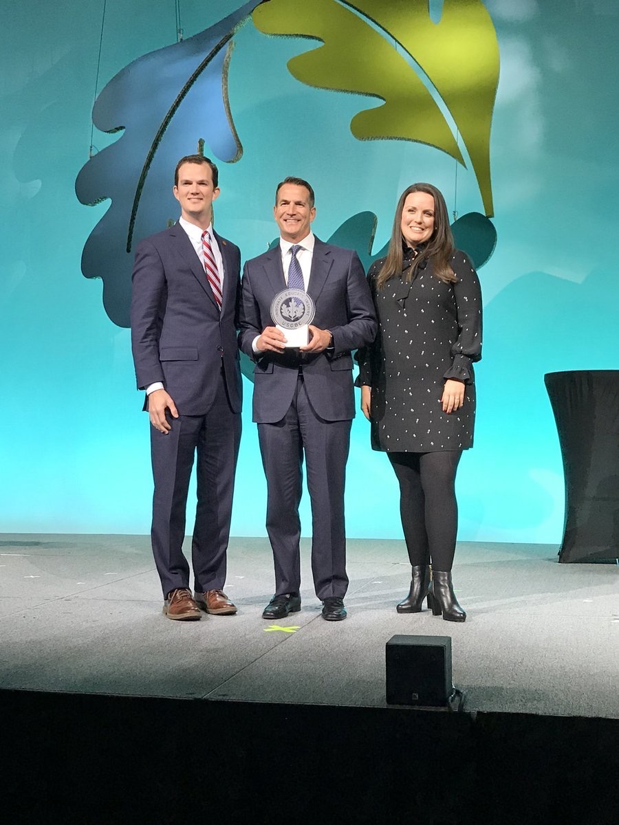 USGBC  The Ray C. Anderson Radical Industrialism Award for 2017 goes to @Kohler, for exceptional leadership in sustainability. #Greenbuild17 pic.twitter.com/KFJt89i1n9  Nov 9, 2017 at 10:59 AM