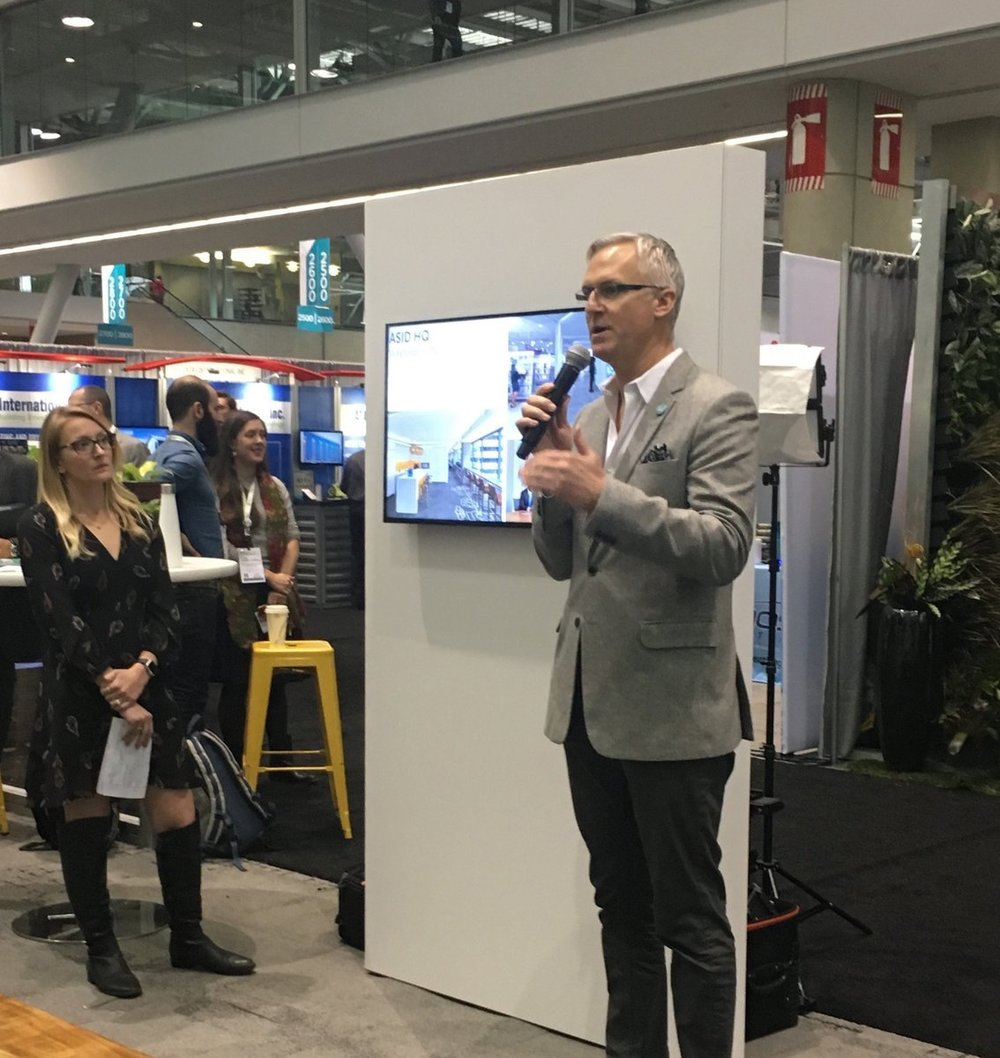 perkinswill_BOS  Shots from #Greenbuild17: Listening to Randy Fiser, CEO of @ASID, speak about how the new headquarters is the first project to achieve both @WELLcertified and LEED platinum status. Great work @PerkinsWill_DC and @ASID! pic.twitter.com/5nH21CGvz1  Nov 9, 2017 at 2:23 PM