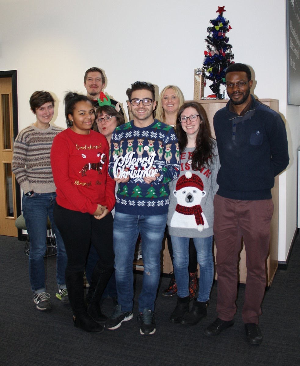 camira We are enjoying our 'Camiramas' #ChristmasJumperDay raising funds for @savechildrenuk pic.twitter.com/5Wgf8EKYIB Dec 15, 2017 at 8:05 AM