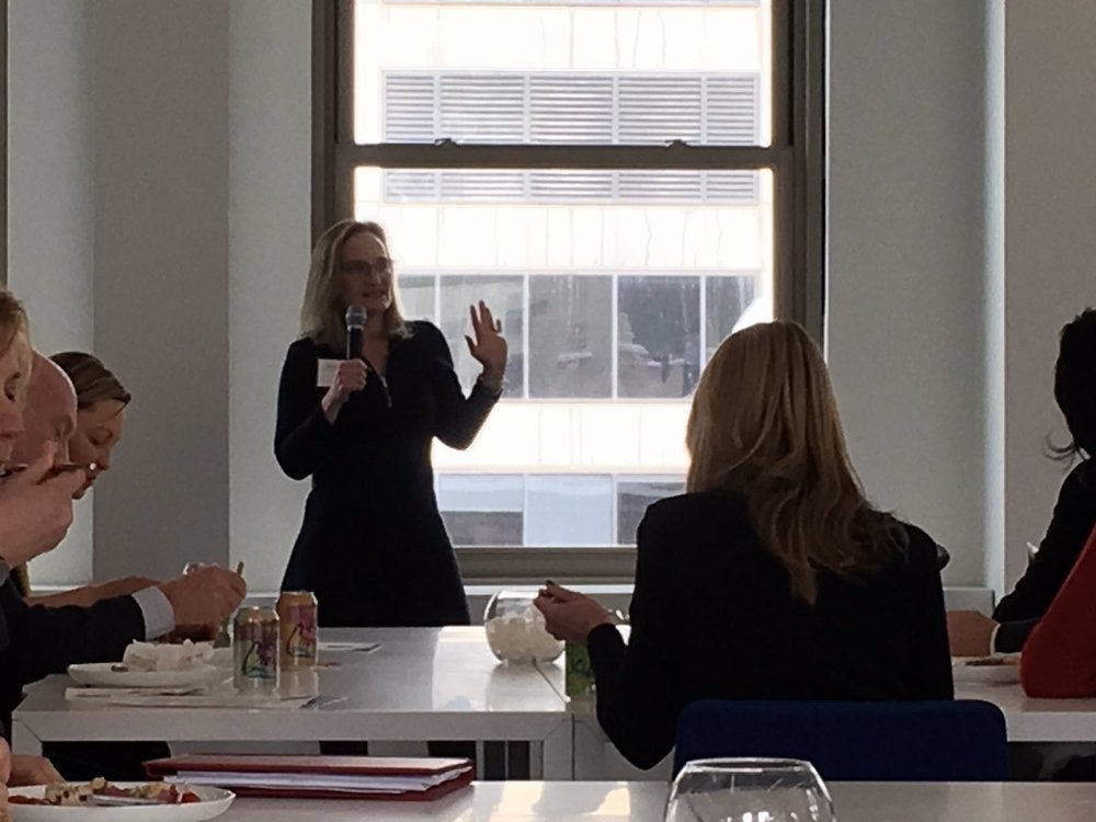 perkinswill_CHI  Rachel Bronson, President and CEO of @BulletinAtomic discusses the Doomsday Clock's history, current time, and what it means for the future of the planet during the @ChicagoCCAC February luncheon at @perkinswill_CHI pic.twitter.com/3dIDfqdzEj  Feb 13, 2018 at 12:39 PM