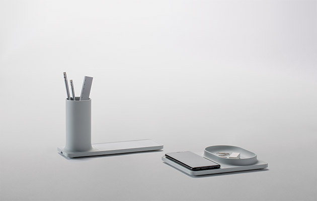 Pesi's On The Surface collection makes use of flat charging surfaces