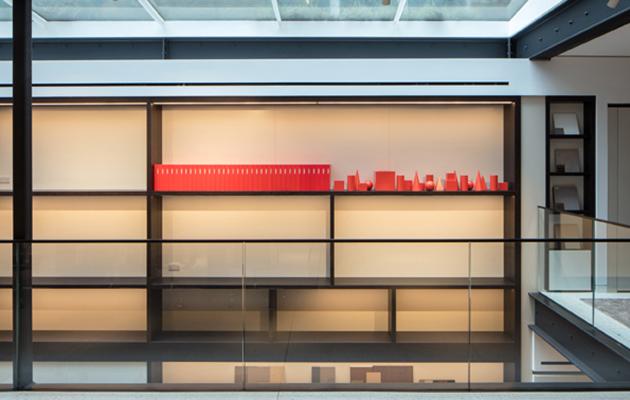 UniFor's new interiors were designed by London-based studio MoyerSmith