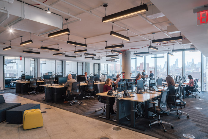 The Delos workplace illustrates the best practices and the highest building certification standards available today