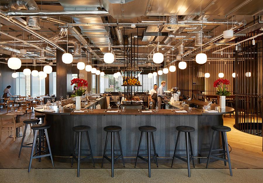 The restaurant and café Borealis.   Courtesy Hufton + Crow