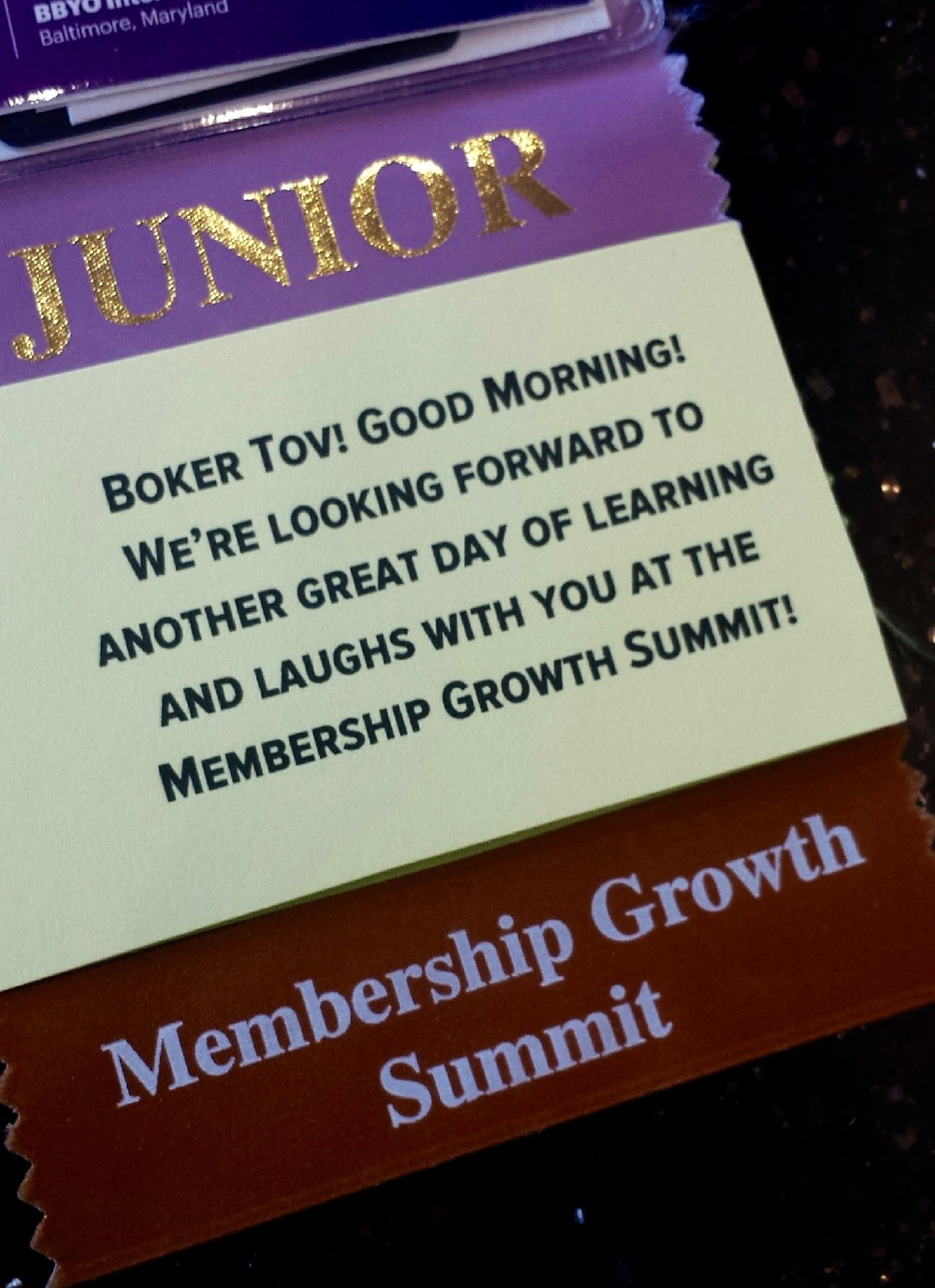 The Membership Growth Summit taught participants how to develop recruitment plans and grow BBYO.