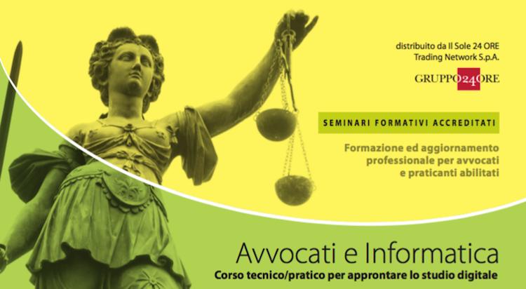 Locandina Avvocati e Informatica