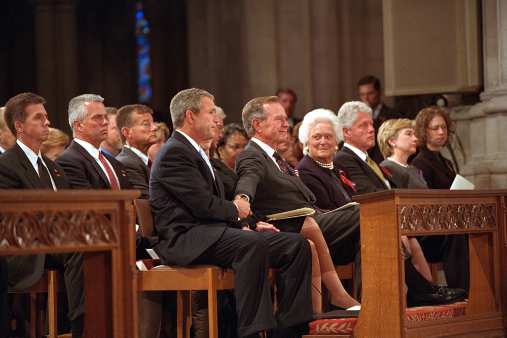 National Cathedral Event   (Image from http://www.georgewbushlibrary.smu.edu/Photos-and-Videos/Photo-Galleries/September-11-2001.aspx)