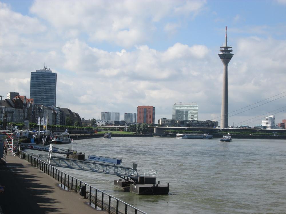 Duesseldorf am Rhein