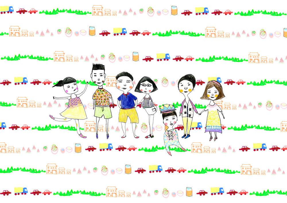 PAPA and KIDS /08.08.2014