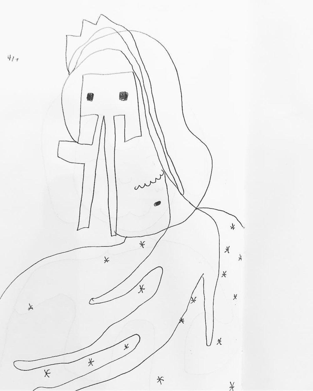 每日都是自己的浪漫❤️今夜躺在星星上像友藏爺爺/ 04.07.2018