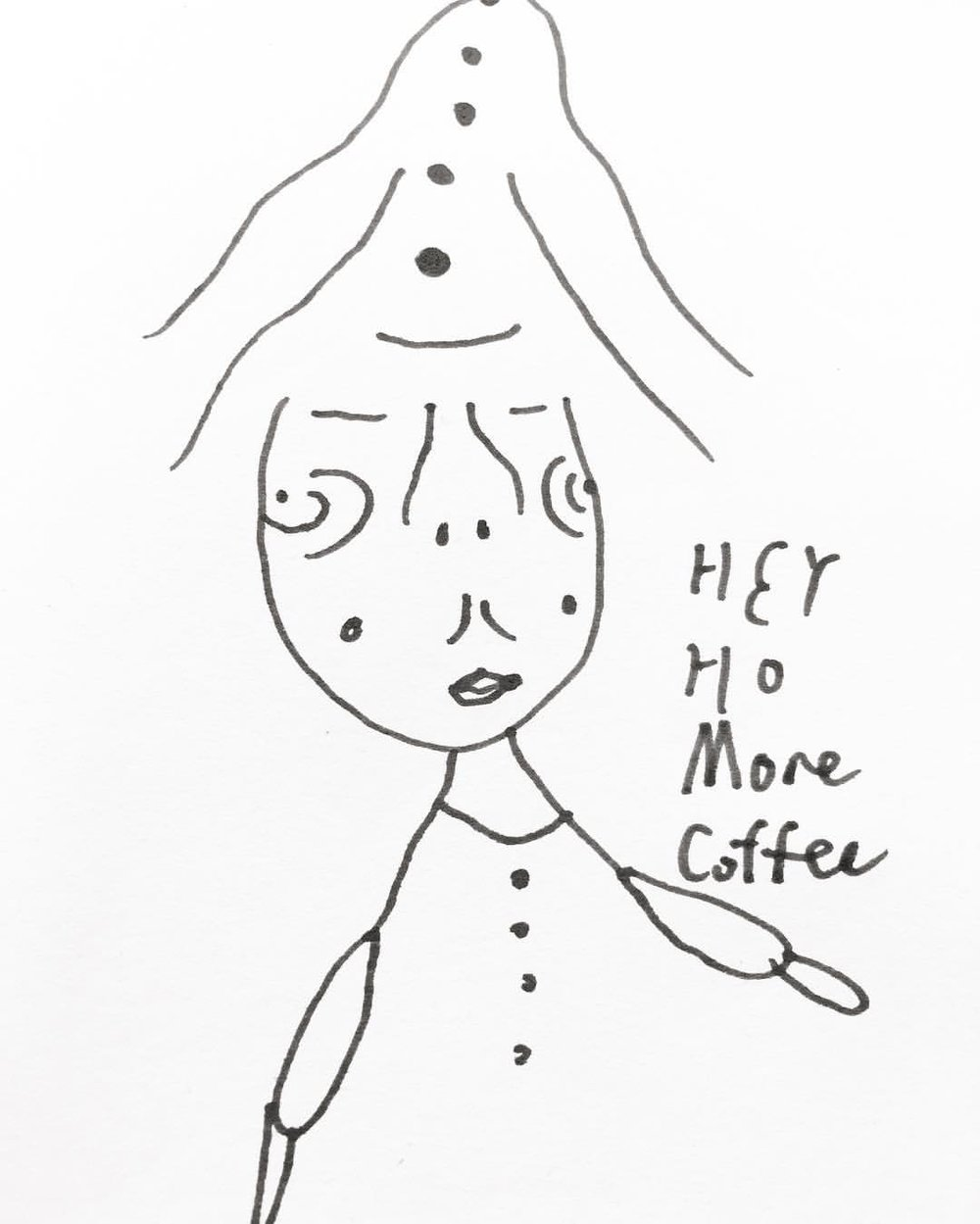More coffee more addition more and more goodbye/ 04.08.2017