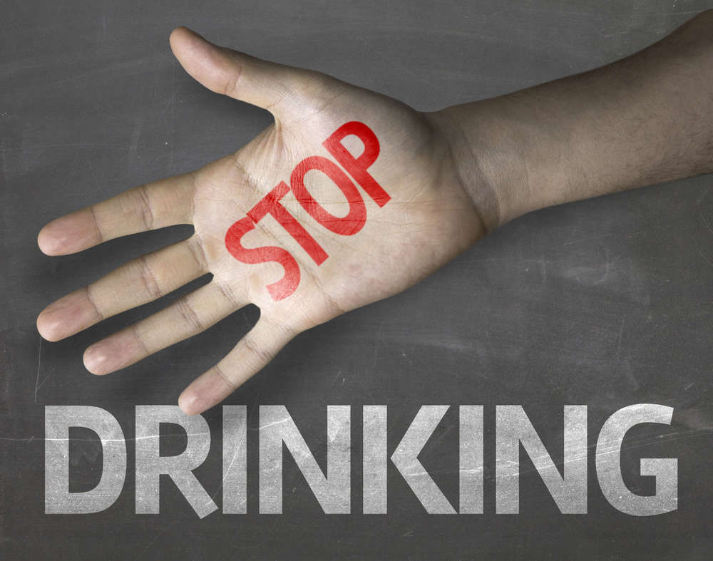 Stop drinking alcohol in San Diego