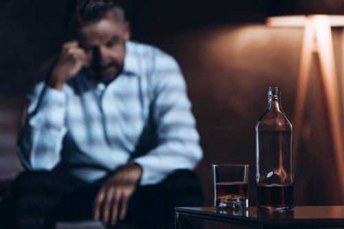 Alcohol treatment for an alcoholic.