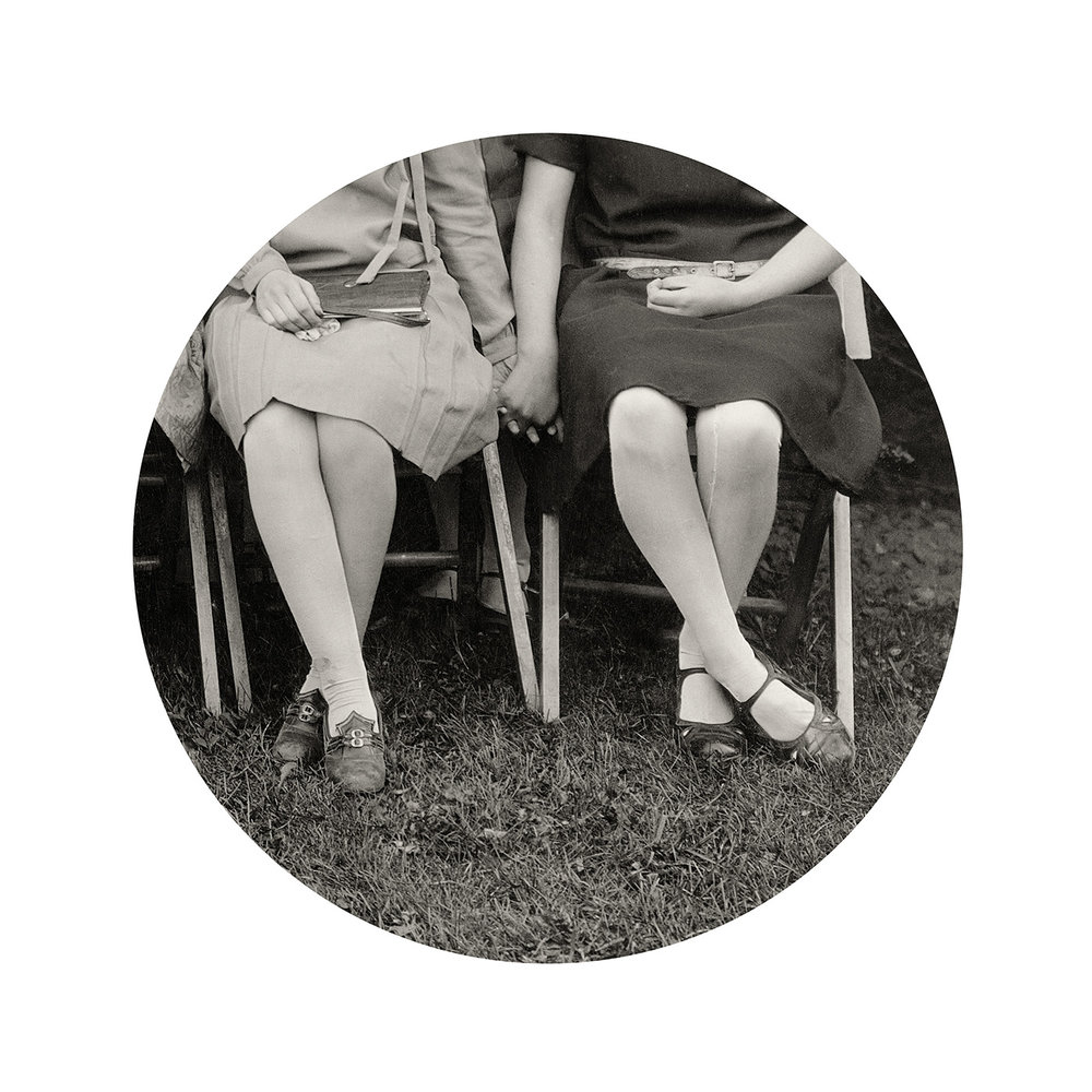 Folding Chairs (from Through the Lens of Desire), 2015, variable size.
