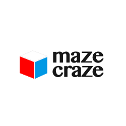 Maze Craze Maze Craze is an interactive electronic toy that allows children to build their own maze and to navigate marbles through it, controlling the tilting and spinning of the maze using smartphones