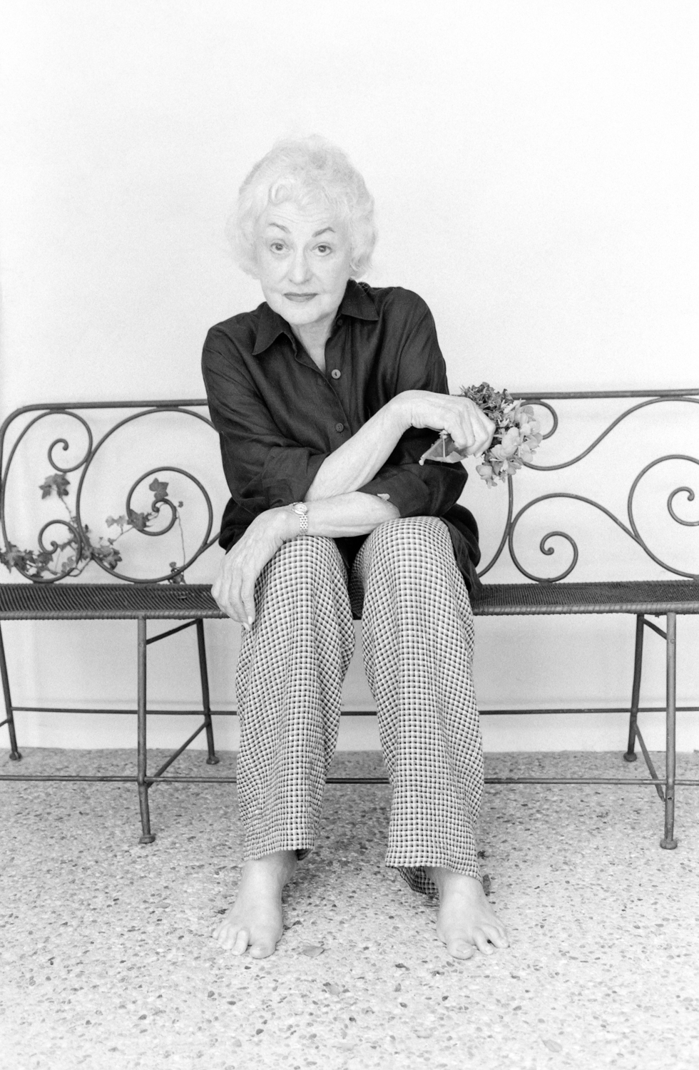 Bea Arthur of the Golden Girls TV show. Portrait images of Beatrice Arthur by Palm Springs photographer Tim Courtney.