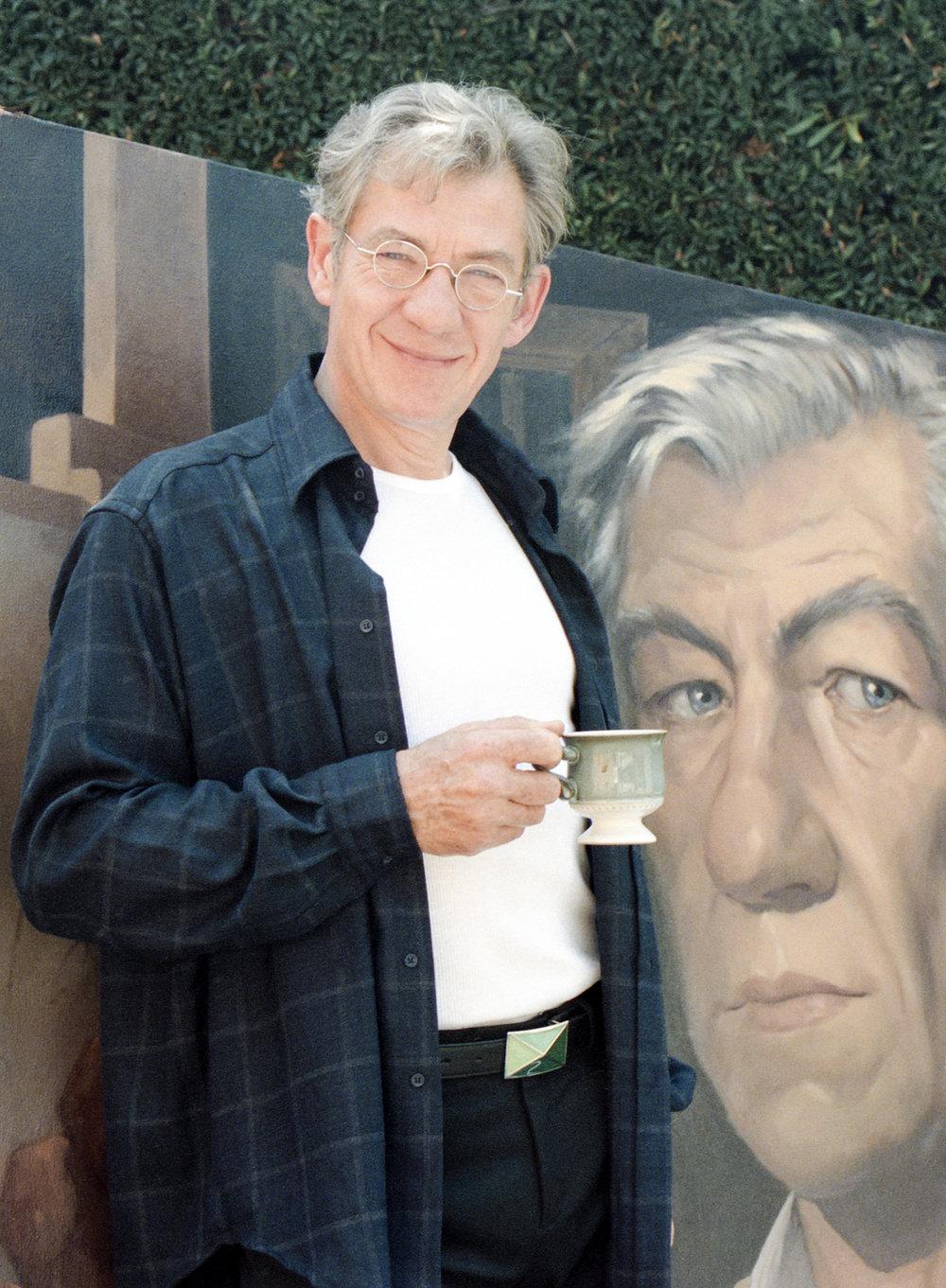 male portrait Sir Ian McKellen British actor Sir Ian McKellen by Tim Courtney Photography
