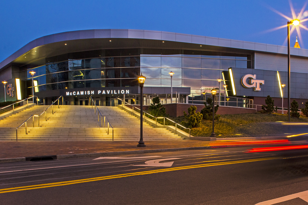 McCamish Pavilion - Georgia Tech // Client: Image Manufacturing Group