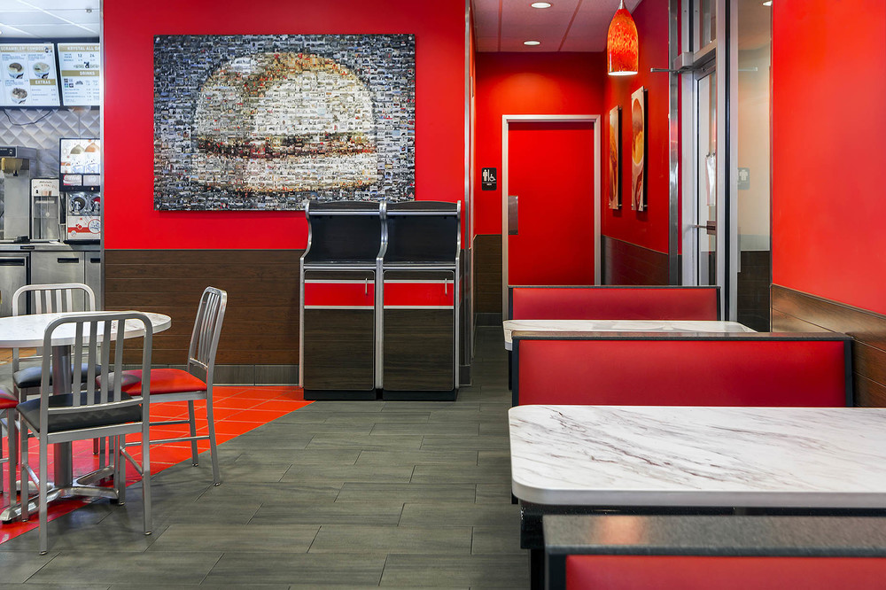 Krystal Burger - Atlanta, GA // Client: Seating Concepts