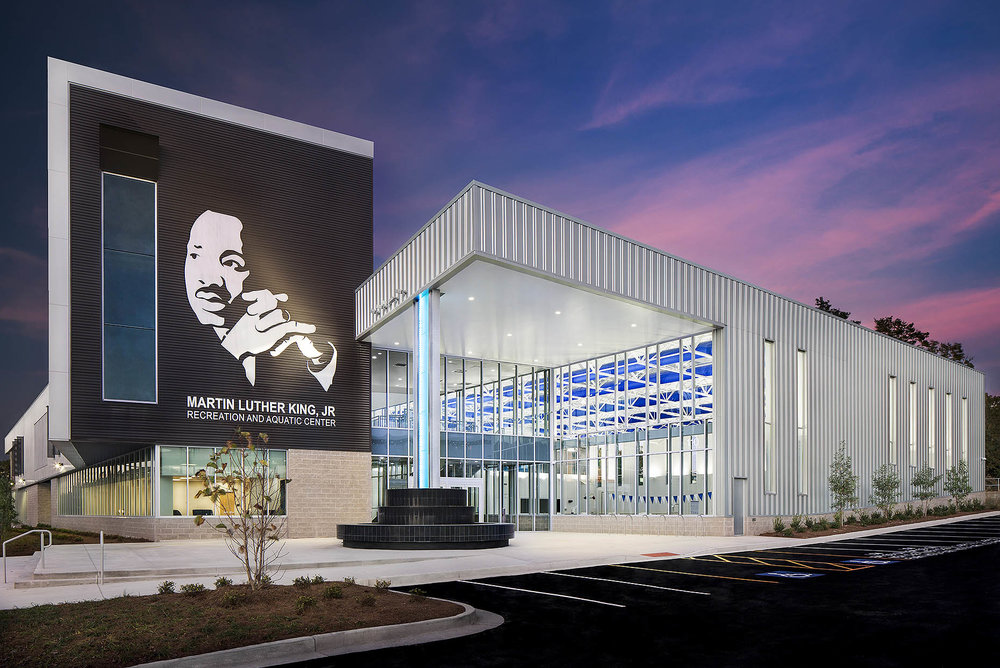 MLK, Jr. Recreation and Aquatic Center // Atlanta, GA // Client: Winter Construction