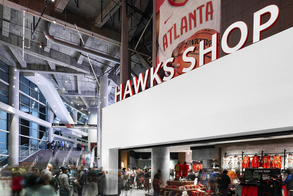 Atlanta Hawks Project for Infinite Scale and Amy Parry Projects