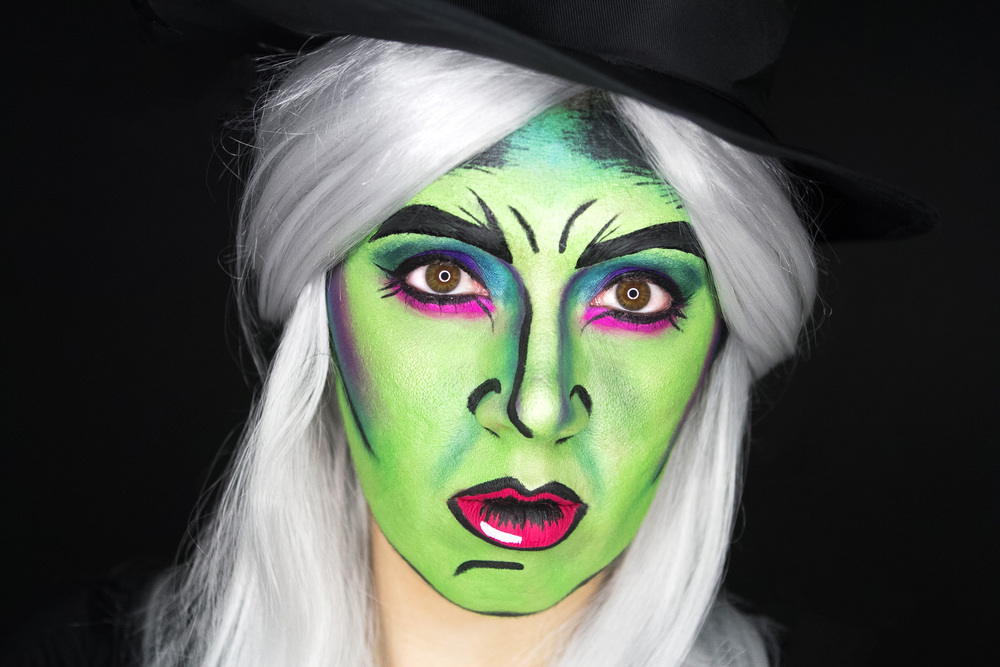 Pretty Green Witch Makeup pretty green witch makeup