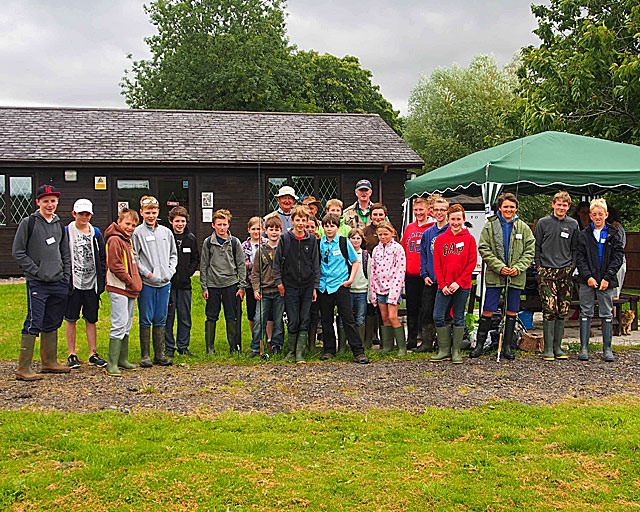 The River Exe & Tributaries Association Robin Bailey Junior Fly Fishing Day 2015 (photo by Richard Horrocks)