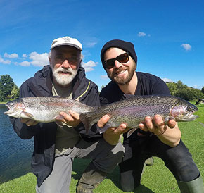 Fly Fishing Course at Exe Valley Fishery