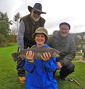 Family Fly Fishing Course