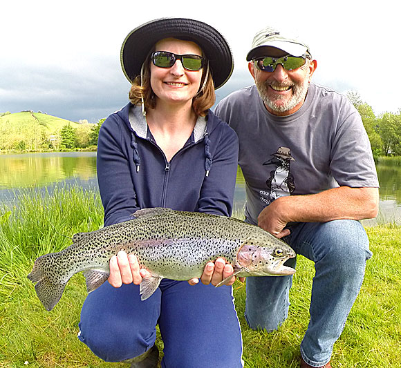 Father & Daughter Fly Fishing
