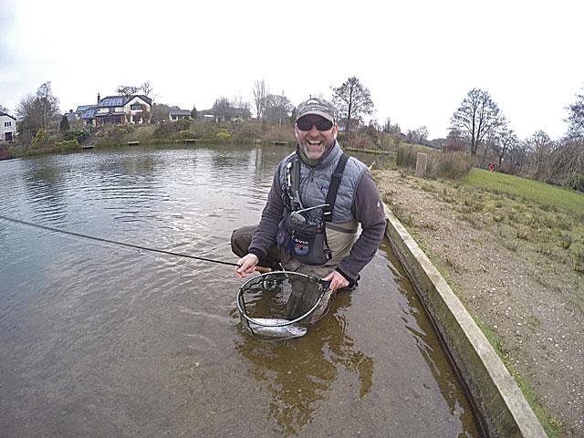 Artist, angler and all round top bloke David Burton