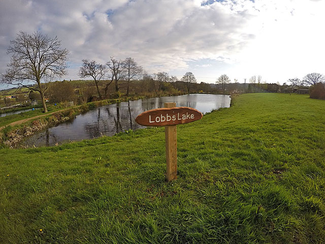 ... and Lobbs!  We think they are very eye catching and would like to thank Rob of Anstey Gates for his superb craftsmanship.  If you need a wooden sign call him on 07816 966494
