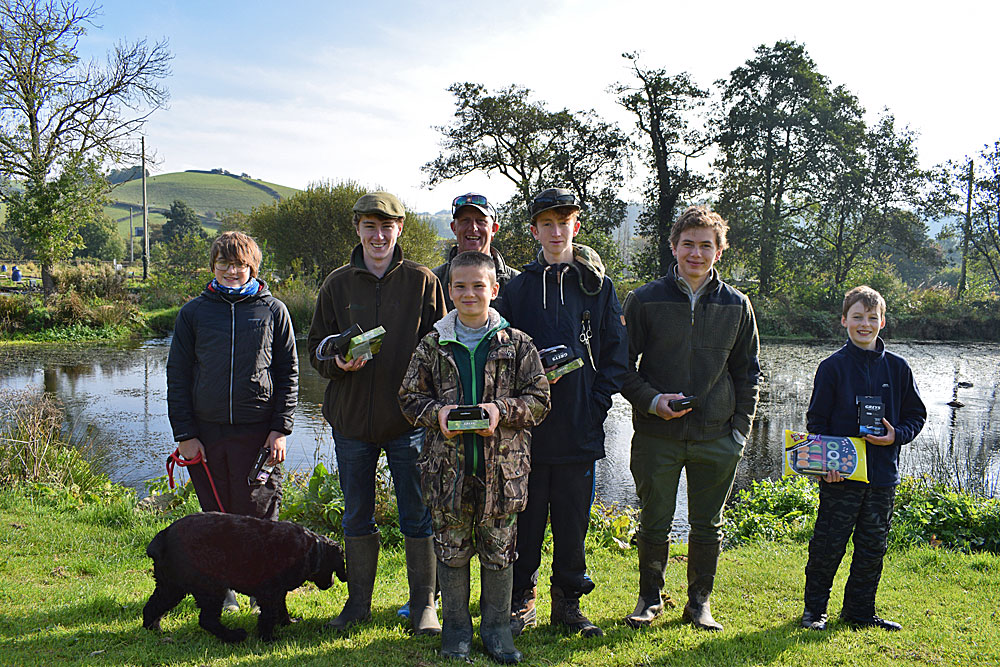 All the young anglers received some goodies for their efforts that we donated.  Fly Fishing tackle prizes were also supplied by Greys fly fishing and the event was supported by the Angling Trust