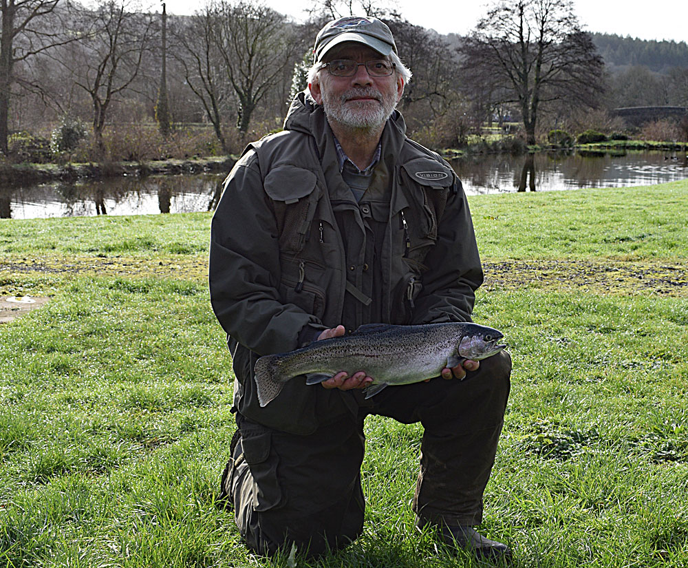 "Tom commented on his return  ""First time in 9 months. 3 quality fish. Well worth the wait."""